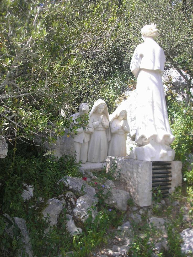 Appearance of the angel to the shepherds. #Fatima, #Portugal http://www.hoteldg.com/en/fatima
