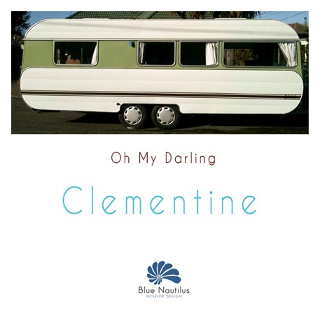 Clementine - our 1970s caravan makeover