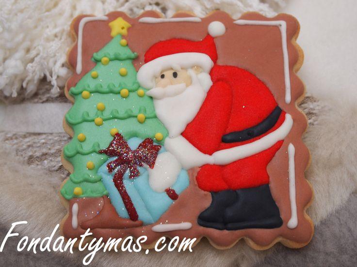 Galleta de Papá Noel