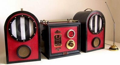 Steampunk Stereo System brings out the closet Victorian in your music