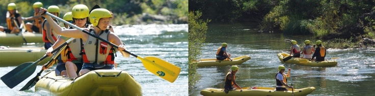 Dare to go on a rafting adventure, visit us on www.omh.hr