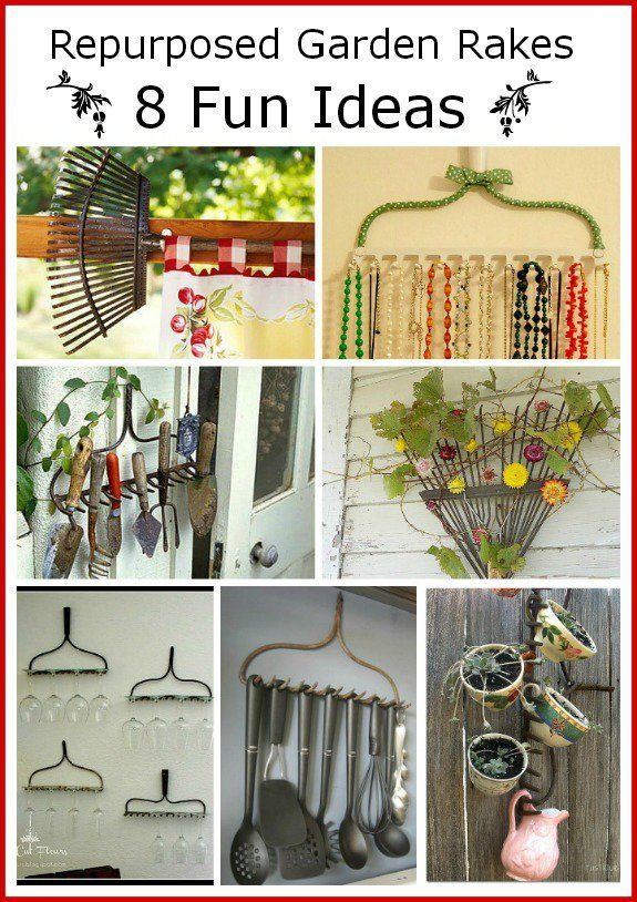 15 Must See Rake Ideas Pins Diy Crafts For Home Diy House Projects And Rustic Vintage Decor