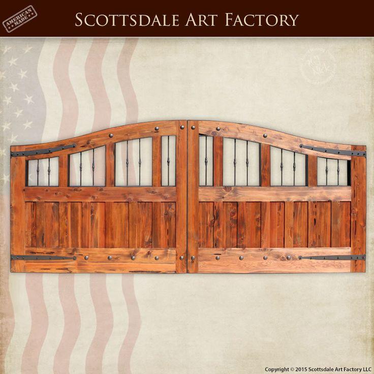 Custom Wood Gates: 17 Best Images About Gates On Pinterest