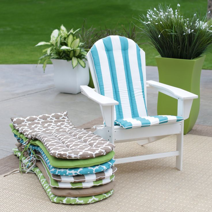 Have to have it. Coral Coast Lakeside Adirondack Chair Cushion - $46.99 @hayneedle
