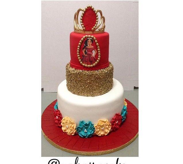 Elenor Of Avalor Cake