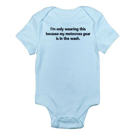 Motocross Baby | Gifts > 4 X 4 Baby Clothing > Motocross Infant Bodysuit