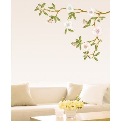 Stylish Flower Wall Decals