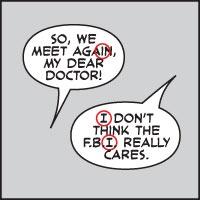 comic book grammar/tradition