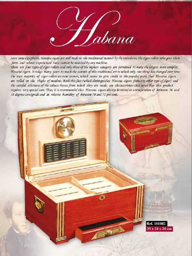 A cigar #Humidor made by CredanSA www.luxuryproducts.pl