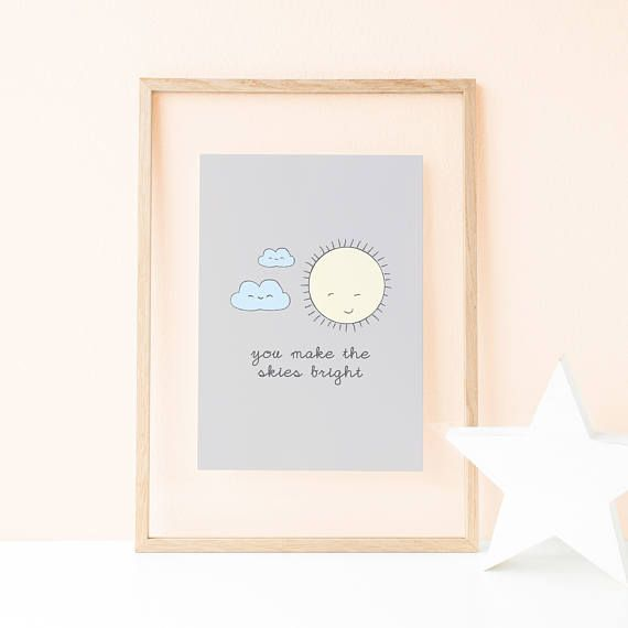 This large baby poster is ideal to decorate your baby's room. Due to pastel colours, this scandinavian print creates a classic and a minimal nursery decor, perfect for the decorations of your kid's room. Nursery Decor Wall Decor Bedroom Nursery Wall Art Kids Art