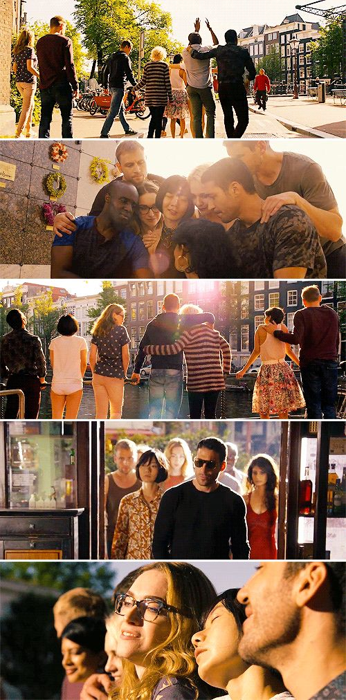 As long as we are together, I know that there's nothing we can't do #sense8