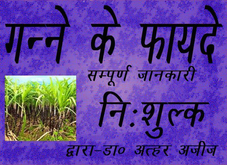 गन्ने के फायदे।द्वारा–डा० अत्हर अजीज।BENEFITS OF Sugarcane/GANNA BY: DR....
