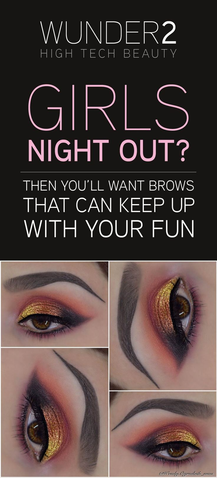 Eye are the first part of another person we look at - therefore you will want to use a product that will frame them perfectly. That product is WunderBrow! Choose from 5 shades - Blonde, Brunette, Auburn, Black/Brown or Jet Black. Order today for $22 to get FREE shipping & a 30 day money back guarantee. Simply click on the 'visit' button above. The order form takes less than 2 minutes to complete. Once done you will receive an order confirmation email. Welcome to the future of beautiful…