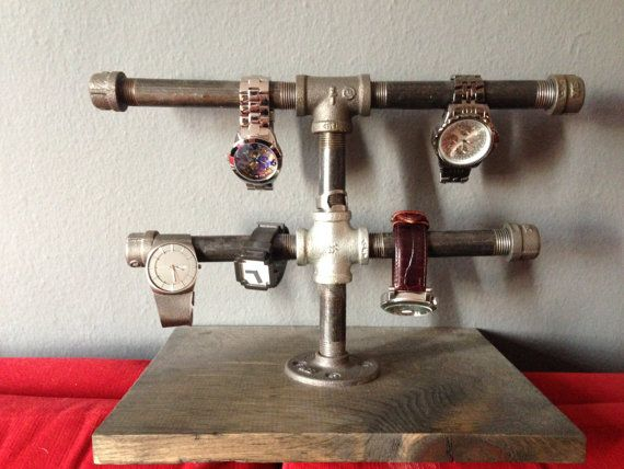 Pipe Watch Stand.
