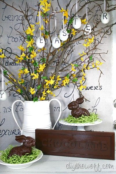 Pottery Barn Easter egg knock off.     Original source: http://diyshowoff.com/2012/03/09/pottery-barn-knock-off-easter-eggs-tutorial/