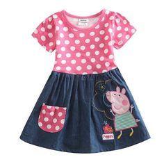 vestidos para niñas casuales de vestir de algodónBs. 5.490