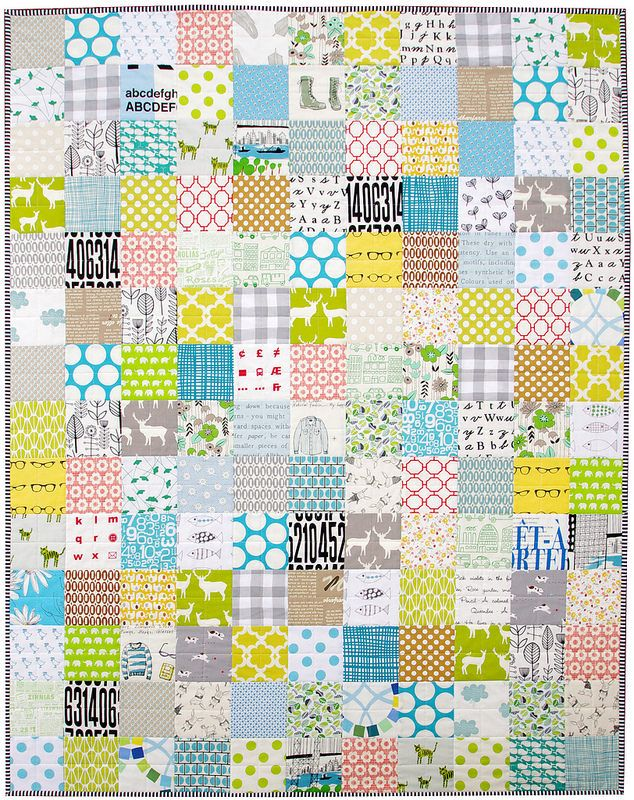 Custom Order Baby Boy Quilt 44 inches x 56 inches.This sweet baby boy quilt is finished and has...