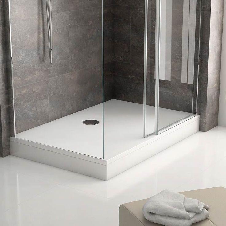 Receveur de douche Arone rectangle sur pieds