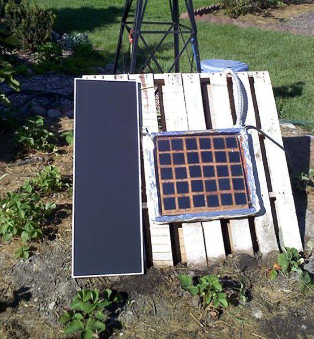 homemade solar panel pdf free
