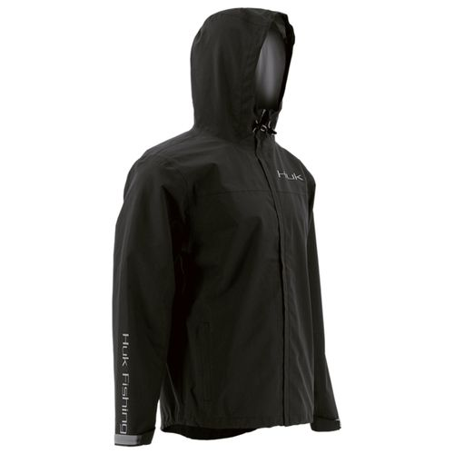 Huk Packable Rain Jacket - Black  looks good and provides excellent weather protection. Shop Wholesale Marine for everyday low prices & fast shipping!