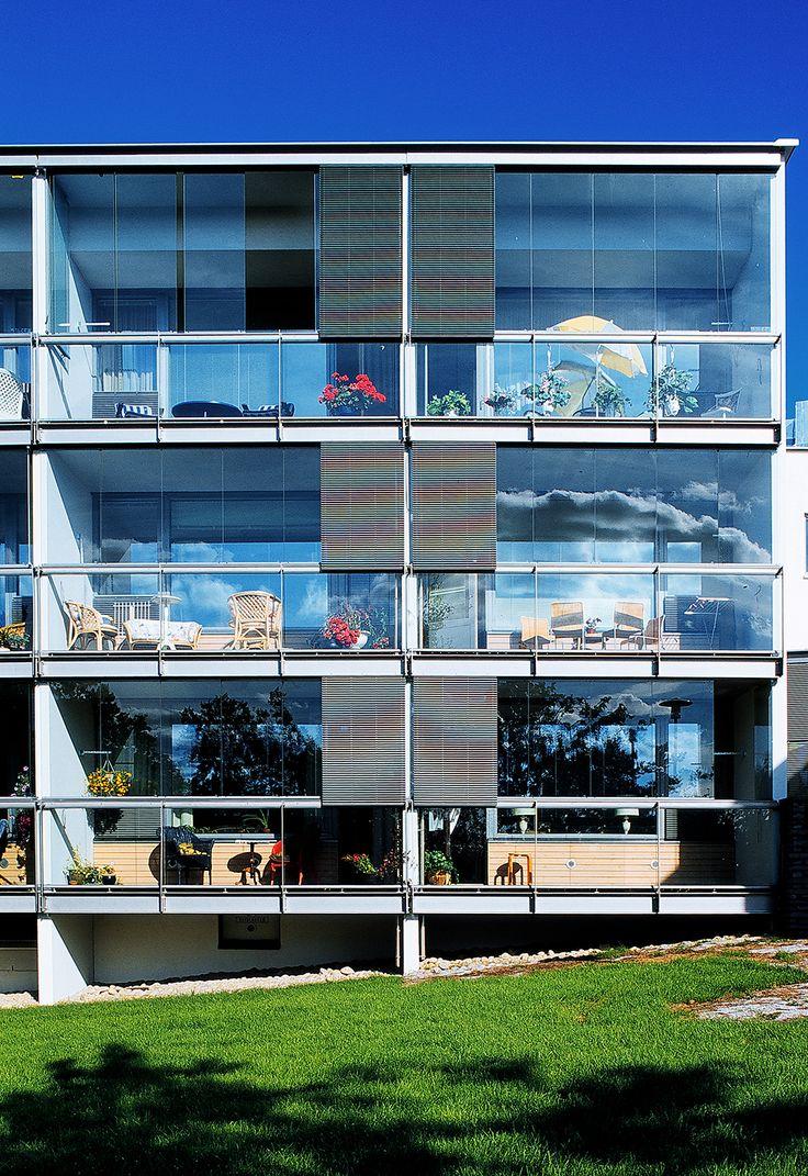 Senior Citizens′ Housing Sandels - Helin & Co Architects, 2000