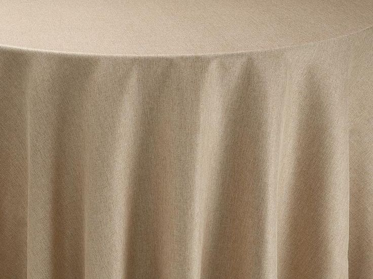 Gold Alkaline Table Linen   Tablecloth For Round Tables