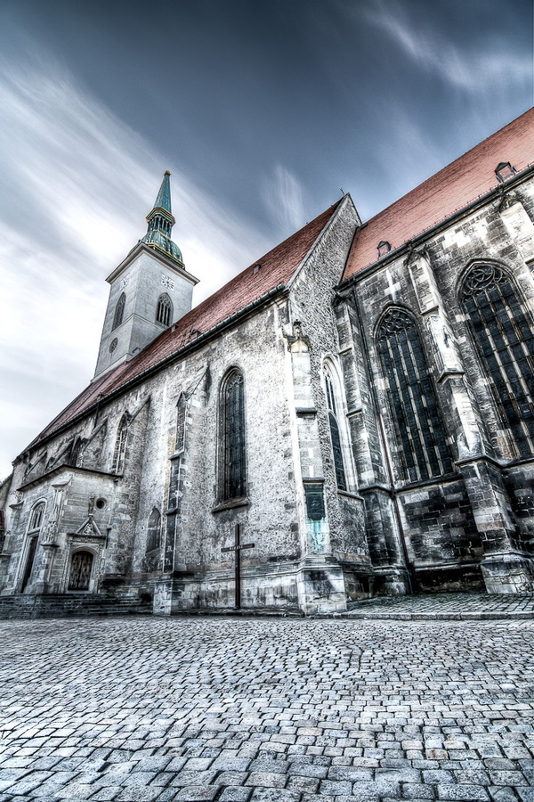 St. Martin Cathedral #Bratislava #Slovakia #Cathedral by Vicktor Belicak, via 500px
