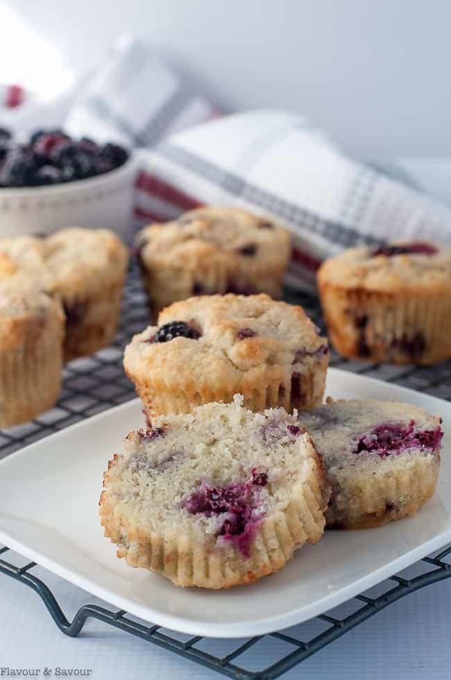 Ultra Moist Keto Blackberry Muffins Flavour And Savour Recipe Blackberry Muffin Low Carb Muffin Recipes Keto Recipes