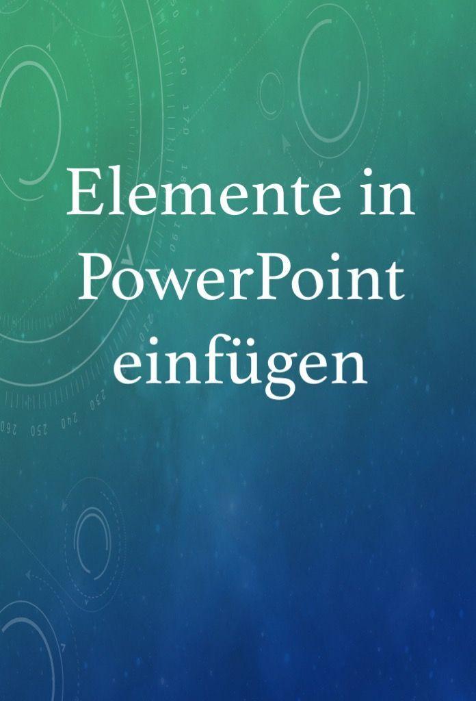 Powerpoint Prasentation Bild Diagramm Oder Form Einfugen In 2020 Power Point Powerpoint Prasentation Excel Tipps