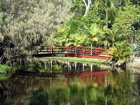 This garden is in Hervey Bay.