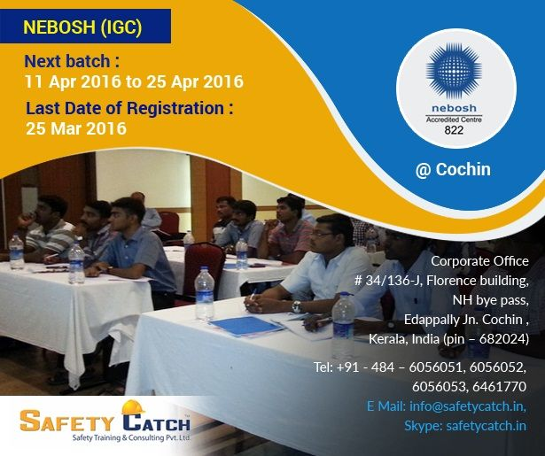 #NEBOSH qualifications help Managers, #Supervisors and Staff from all types of Organization with health & safety among their day-to-day responsibilities to gain a broad understanding of key #health & safety issues.