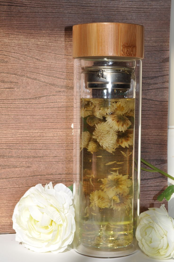 Cooling Chrysanthemum in Embre Diffuser Flask!