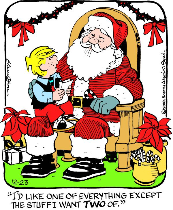 Dennis the Menace for 12/23/2016