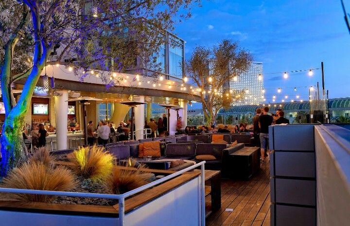 Cocktails with a view at Hard Rock Hotel San Diego's FLOAT Rooftop bar.