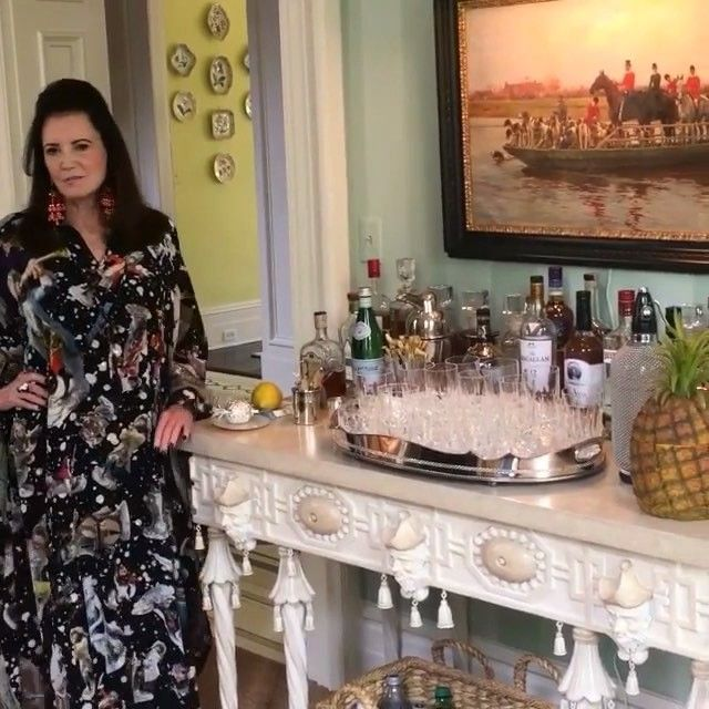 Patricia Altschul's rules to the perfect Charleston cocktail party from @voguemagazine | Southern Charm, Bravo TV