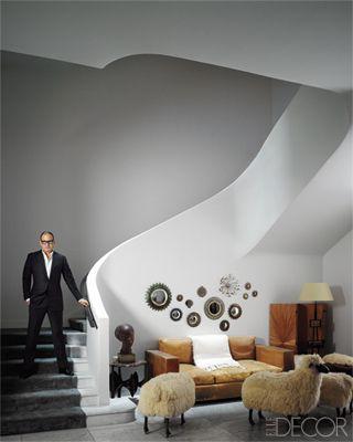 Reed Krakoff's New York Foyer - ELLEDecor.com