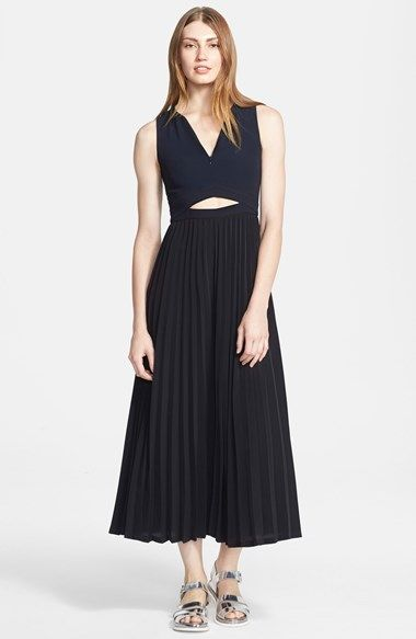 A.L.C.+'Cornelia'+Cutout+Midi+Dress+available+at+#Nordstrom
