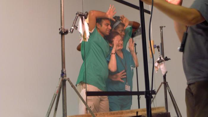 #italianmoviesilfilm  #backstage    (foto di Michele Venitucci)