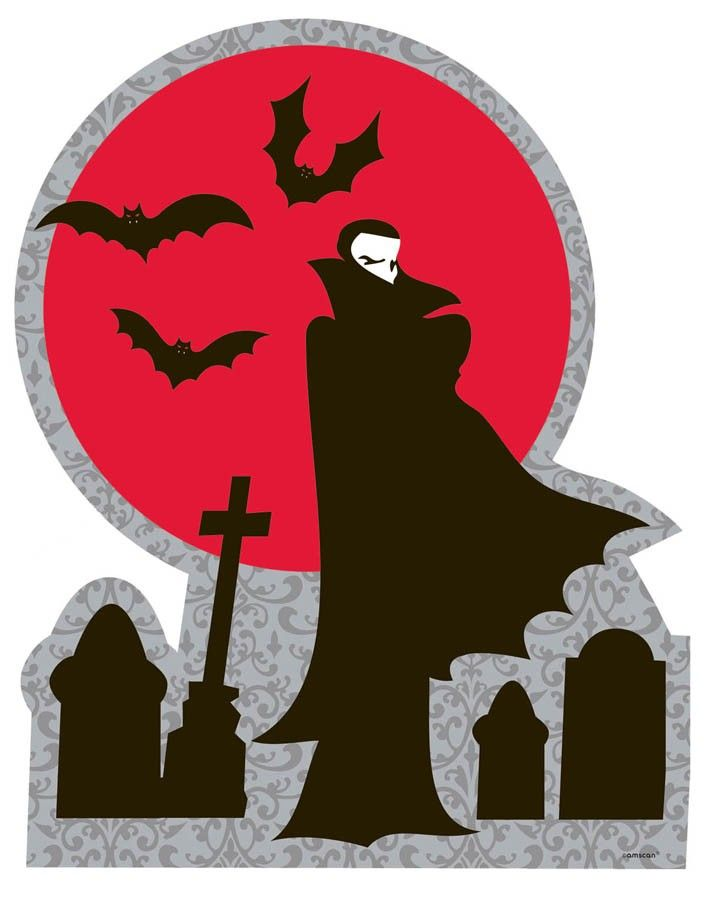 counting on the perfect cutout to set the scene for your halloween or vampire themed party then look no further than this dramatic and eye catching - Vampire Halloween Decorations