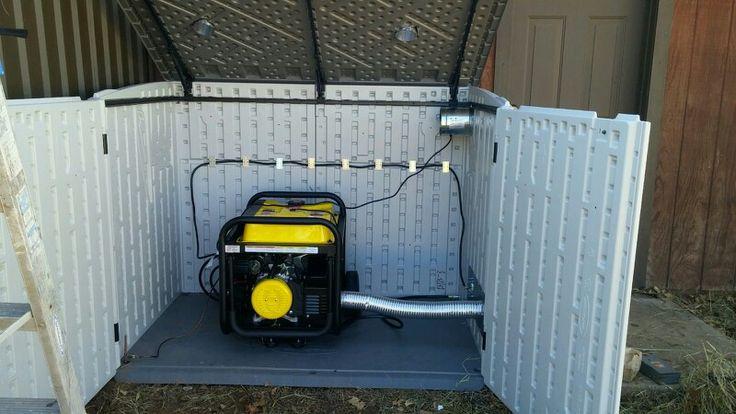 Emergency Generators Shelters : Best generator shed images on pinterest