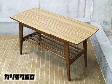 展示品 Karimoku60 カリモク60 リビングテーブル/センターテーブル ウォールナット 美品