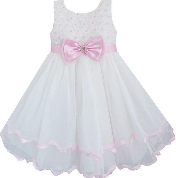 Prachtige prinsessenjurk voor de mini bruidjes of bruidsmeisjes. Verkrijgbaar in alle kleuren en maten. Neem contact op voor de mogelijkheden!