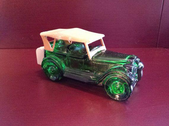Avon Vintage Cologne vert bouteille voitures par ToyTreasureChest