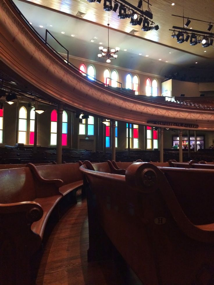 Thrift and Shout: My Guide to Exploring Nashville in 3 Days: The Ryman Auditorium