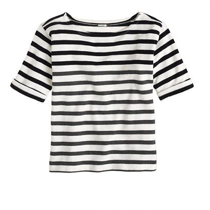 J.Crew - Lightweight terry tee in stripe