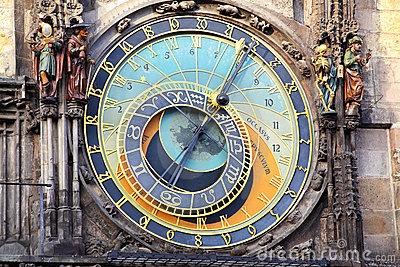 I enjoy astrological clocks, and antiqued clock faces