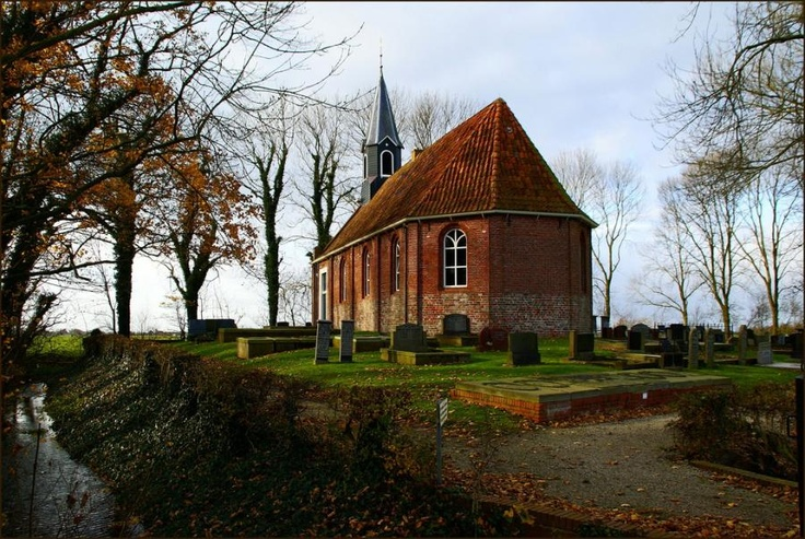 Den Ham, Groningen, The Netherlands-The church is from the 16th century - by atsjebosma - Pixdaus