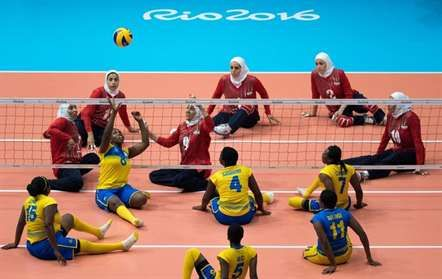 Ruanda-Irão nos Jogos Paralímpicos, Rio de Janeiro (Simon Bruty/AP)