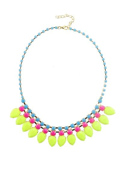 .The Mikhall Necklace-AJ032-Yellow NZ$15.00 on Nzsale.co.nz