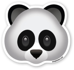 Panda Face | Emoji Stickers